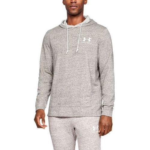 bluza sportstyle terry hoodie szary - szary marki Under armour