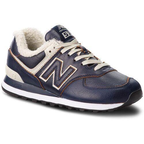 Sneakersy NEW BALANCE - ML574WNF Granatowy