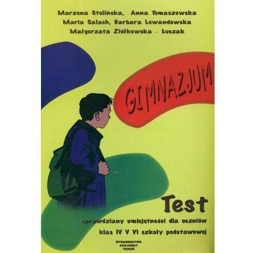 Sprawdziany umiejętności dla uczniów SP kl.4-6 Test - Praca Zbiorowa (8387329495)
