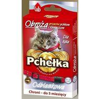 Pchełka obroża przeciw pchłom i kleszczom dla kota - dzwonek