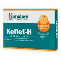 Himalaya Koflet-H pastylki na kaszel smak pomarańczowy 12 tabletek (8901138834913)