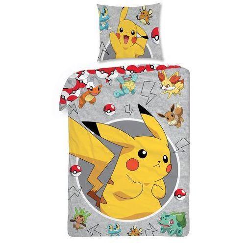 Halantex Pościel bawełniana Pokemon, 140 x 200 cm, 70 x 90 cm