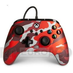 PowerA Xbox One Enhanced Metalic Red Como