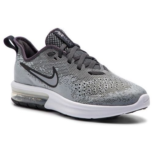Buty NIKE - Air Max Sequent 4 (GS) AQ2244 003 Wolf Grey/Wolf Grey Anthracite
