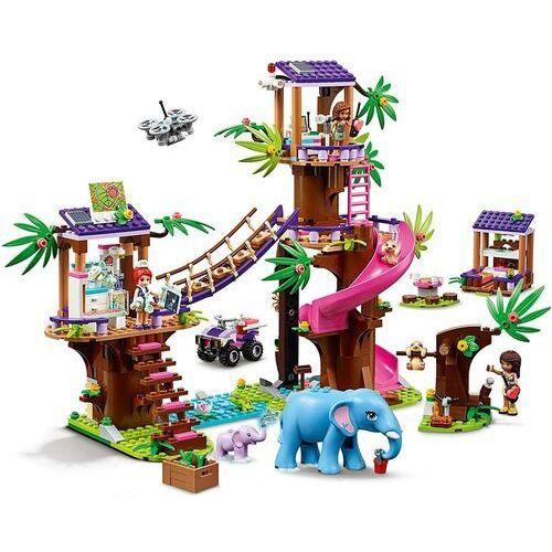 41424 BAZA RATOWNICZA (Jungle Rescue Base) KLOCKI LEGO FRIENDS