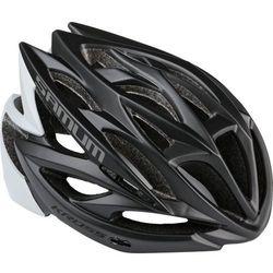 Kask rowerowy samum m 54-58cm czarny/biały marki Kross