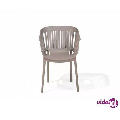Krzesła ogrodowe Beliani vidaXL