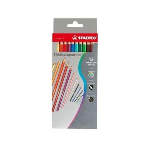Kredki 12 kolorów aqua marki Stabilo