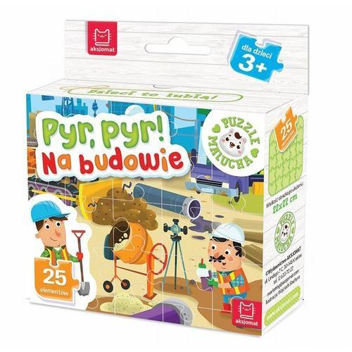 Puzzle malucha Pyr, pyr! Na budowie, 395521