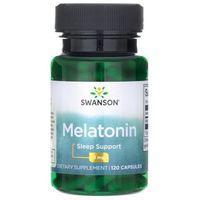 Kapsułki Swanson Melatonina 3 mg 120 kapsułek