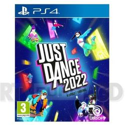 Ubisoft Just dance 2022 gra playstation 4