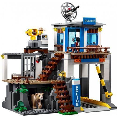 60174 GÓRSKI POSTERUNEK POLICJI (Mountain Police Headquarters) KLOCKI LEGO CITY