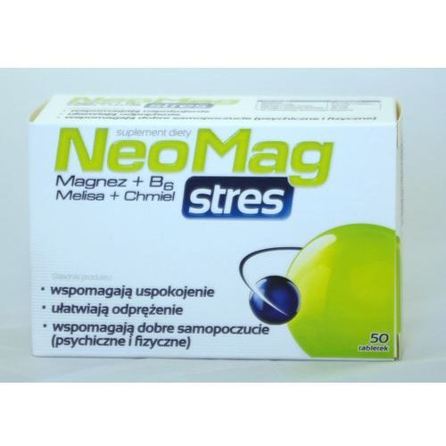 Tabletki Neomag stres x 50 tabl