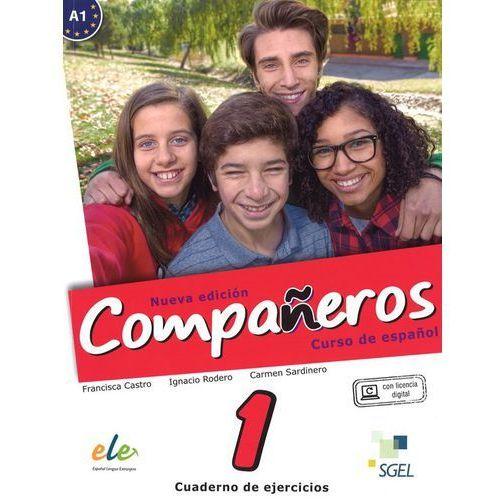 Companeros 1 Ćwiczenia + licencia digital - nueva edicion (2016)