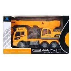 Auto ciężarowe dźwig