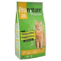 Pronature cat original chicken dla kotów dorosłych kurczak 340g/5.44kg/20kg