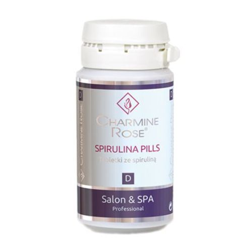 Charmine rose spirulina pills tabletki ze spiruliną (gh1520)