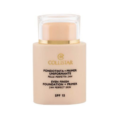 Collistar Evening Foundation + Primer SPF15 podkład 35 ml dla kobiet 1 Ivory (8015150133715)
