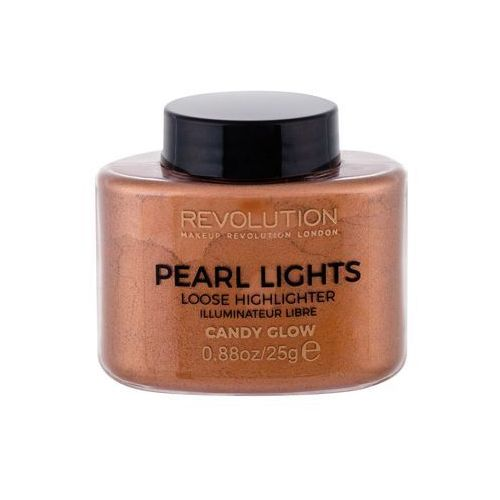 Pearl lights - loose highlighter - sypki rozświetlacz - candy glow Makeup revolution - Ekstra oferta
