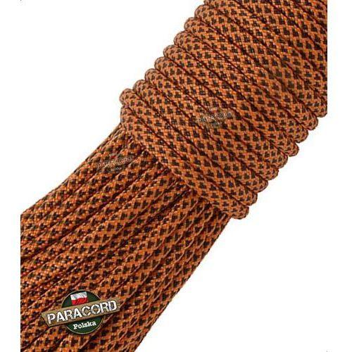 Paracord 550, kolor: Orange Diamonds - linka spadochronowa z siedmioma rdzeniami