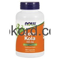 Gotu Kola 450 mg, 100 kapsułek Now Foods