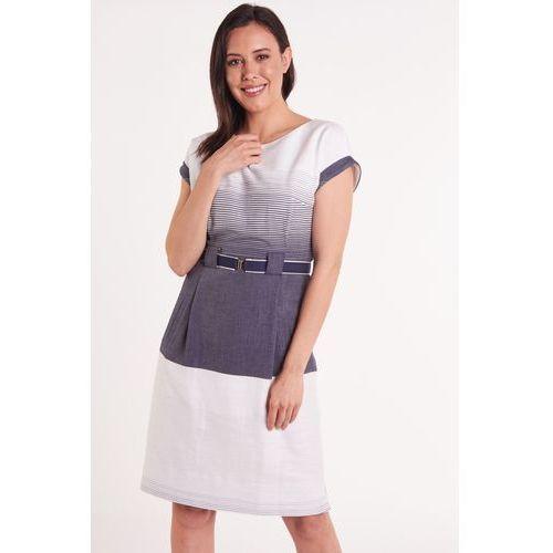 16f50d3c60c778 Sukienka z granatowej koronki (GaPa Fashion) opinie + recenzje ...