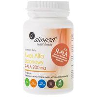 Tabletki Kwas Alfa Liponowy R-ALA 200 mg 60 tabletek - Aliness