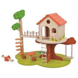 Lelin Domek na drzewie - śliczny drewniany
