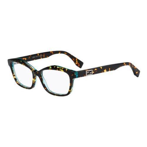Okulary Korekcyjne Fendi FF 0094 BAGUETTE D59