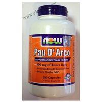 Now Foods Pau D'Arco (LaPacho) 500mg 250 kaps.