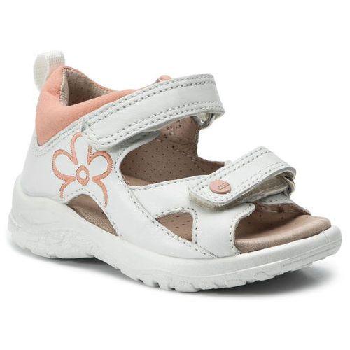 Sandały ECCO - Peekabo 75189150915 White/Muted Clay, kolor biały