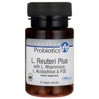 Swanson L.Reuteri Plus Probiotyk (L.Rhamnosus L.Acidophilus) - 30 kap