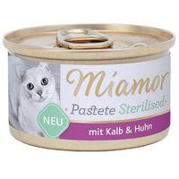 sterilised cielęcina+kura pasztet dla kota puszka 85g marki Miamor