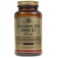 Solgar Witamina D3 1000 IU (25 µg) - 250 kapsułek