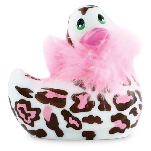 Masażer kaczuszka w dzikiej wersji - I Rub My Duckie 2.0 Wild Panterka (8717903273814)
