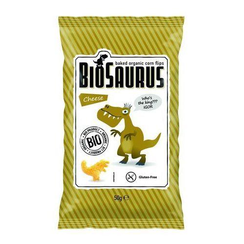 Chrupki kukurydziane o smaku serowym bezgl. bio 50 g Cibi