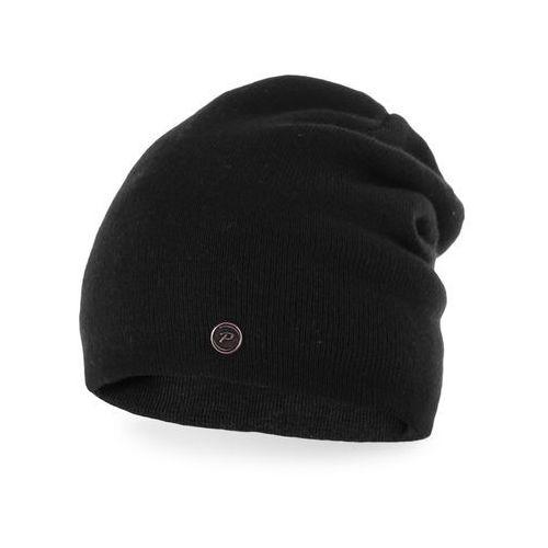 Czapka damska PaMaMi - Czarny, kolor czarny