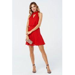 Sukienka Bellis w kolorze czerwonym, kolor czerwony