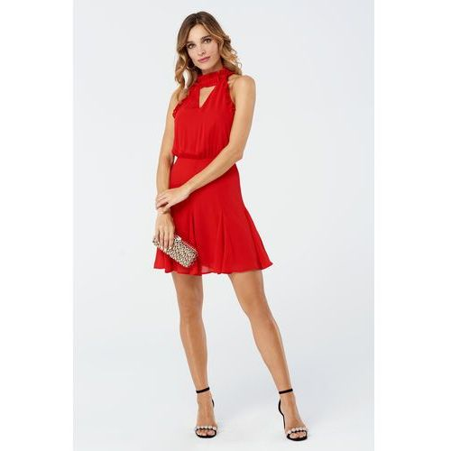 Sukienka Bellis w kolorze czerwonym, w 2 rozmiarach