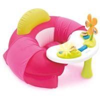Smoby  cotoons baby siedzisko ze stolikiem aktivity, różowy (3032161102115)
