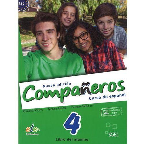 Companeros 4 Podręcznik + licencia digital - nueva edicion (9788497789134)
