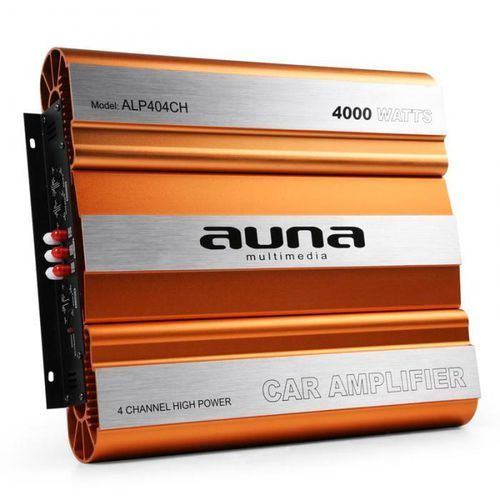 Auna 4000w 4-kanałowy wzmacniacz samochodowy mosfet (4260195331723)