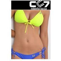 SET Kąpielowki CC7 HEARTS PUSH-UP NEON + SUPER BRIEFS ELECTRIC BLUE no. 6
