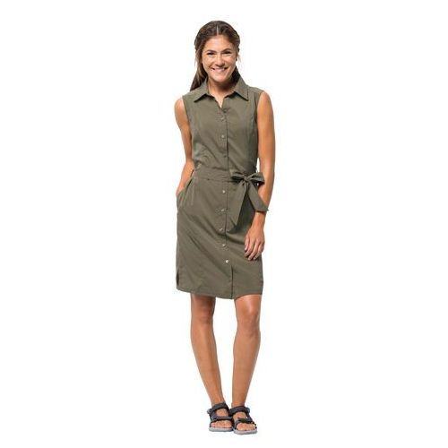 Sukienka SONORA DRESS burnt olive - XXL