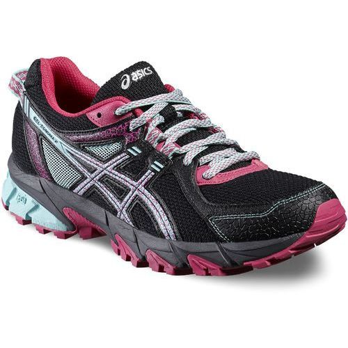 Damskie buty do biegania sonoma 2 t684n-9078 czarny/niebieski 37 Asics
