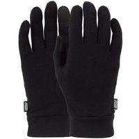 rękawice POW - Ws Merino Liner Black (BK)