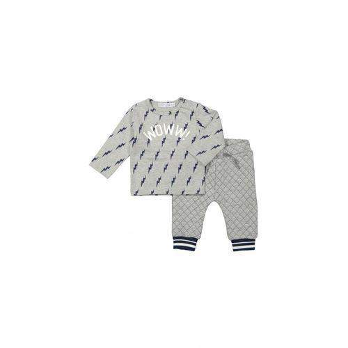 Komplet niemowlęcy bluza+ spodnie 5p35b7 marki Dirkje