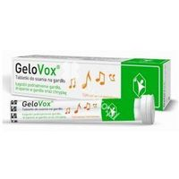 Tabletki GELOVOX Na gardło cytrusowo-mentolowe x 20 tabletek do ssania