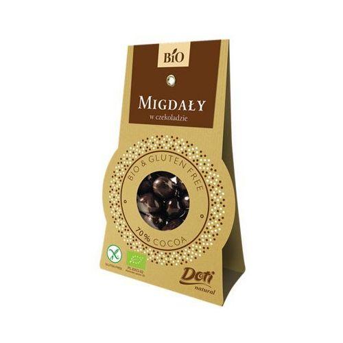 Migdały w czekoladzie deserowej BIO 50g. - DOTI