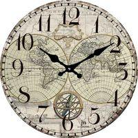 Lowell Designowy zegar ścienny 14863 (8008457147431)